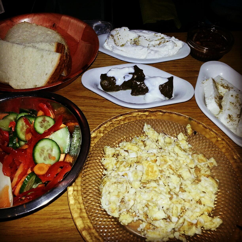 Tapale Evening Breakfast